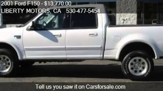 2001 Ford F150 XLT SuperCrew 4WD - for sale in Grass Valley,