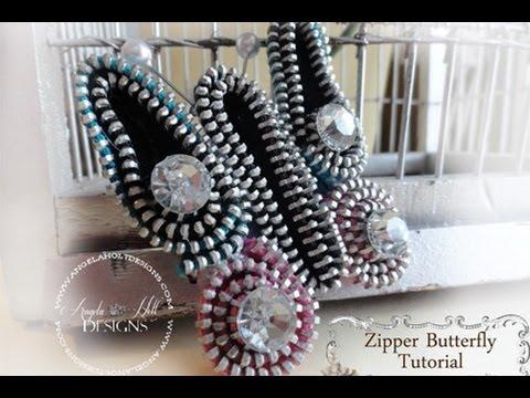 Zipper Butterfly Tutorial