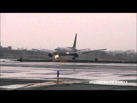 United Parcel Service (UPS) Boeing 767-300F(ER) [N318UP] Hard Landing