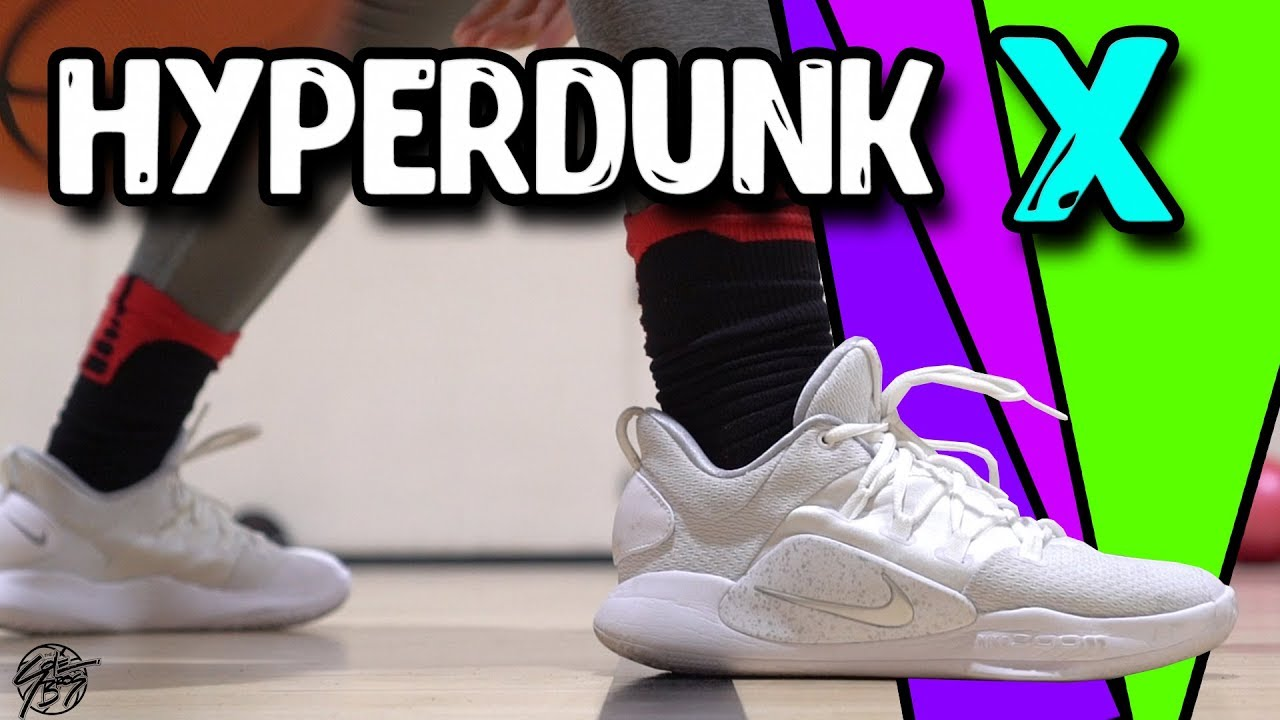 c348d66bbbf0 Nike Hyperdunk X Low Performance Review! - YouTube