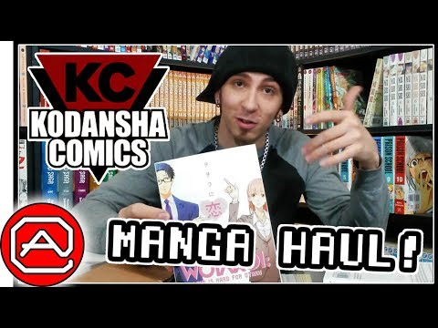 Giant Kodansha MANGA HAUL!! ~ RightStuf VS Barnes & Noble
