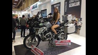 MOTOBİKE 2018 İSTANBUL MOTOSİKLET FUARI ABLALAR / BİR ÇOK MARKA BİR ARADA
