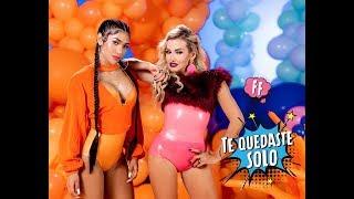 Смотреть клип Fanny Lu, Farina - Te Quedaste Solo