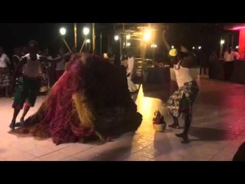 Benin voodoo ritual dance #canfellowship2016