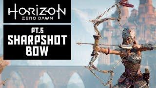 Sharpshot Bow Replica - HZD Shadow Stalwart Cosplay - Pt5