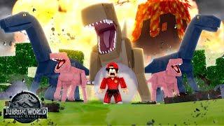 ROBLOX - JURASSIC WORLD LOST KINGDOM!!