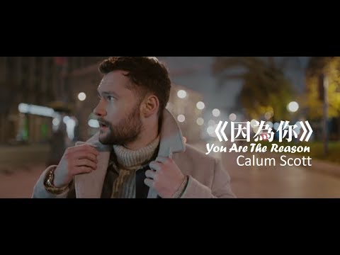 Calum Scott - You Are The Reason 因為你 (中文字幕MV)
