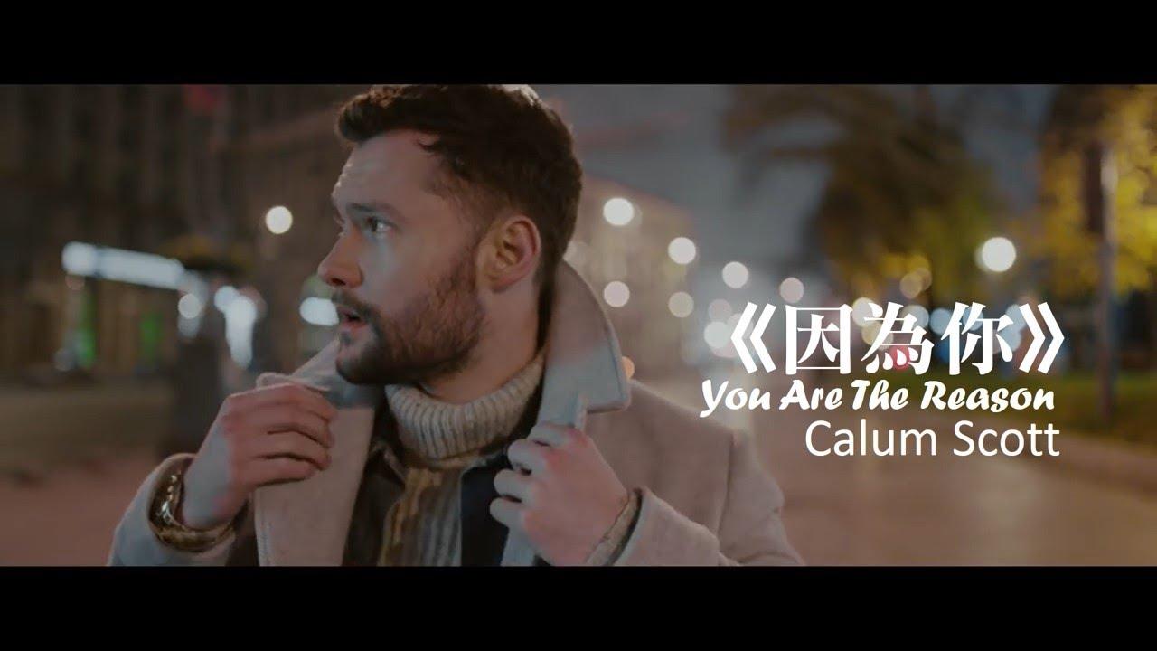 Calum Scott - You Are The Reason 因為你 (中文字幕MV) - YouTube