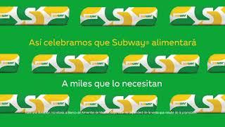 ¡Únete a la celebración! #Subway...