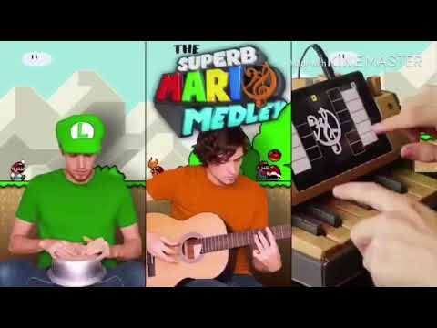 The Superb Mario Medley But Everytime the Song Changes It Gets Faster