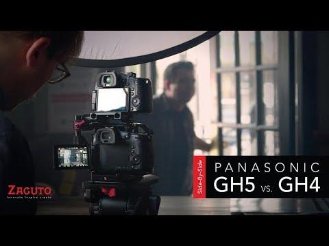 Side by Side   Panasonic GH5 vs GH4