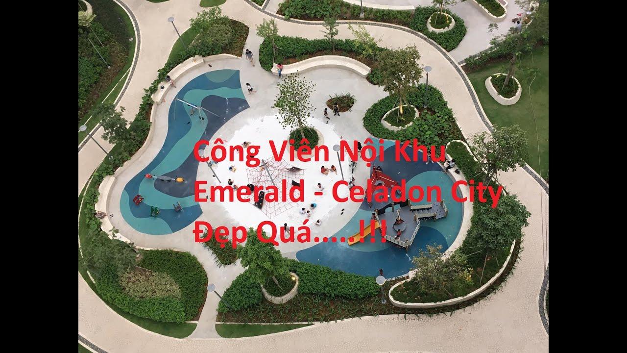 Công Viên Nội Khu Của Khu Emerald Của Celadon City Tân Phú