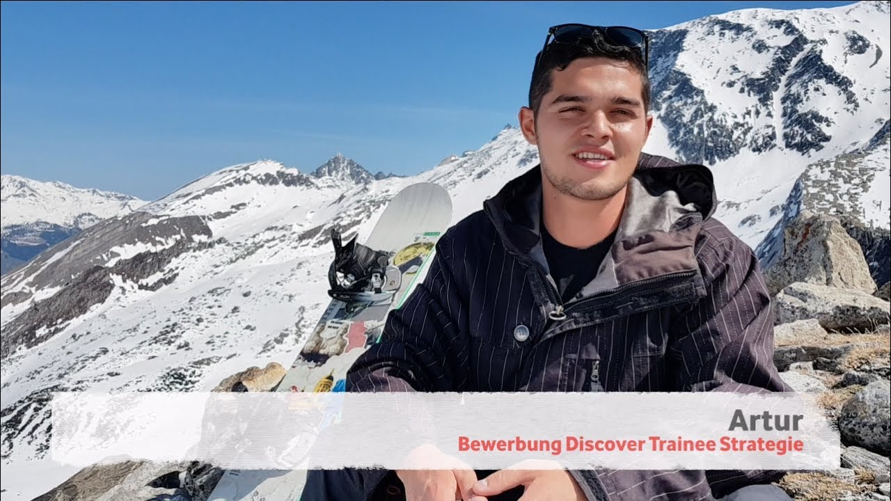 bewerbung vodafone discover trainee strategie - Vodafone Bewerbung