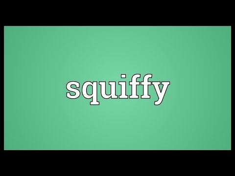 Squiffy Meaning