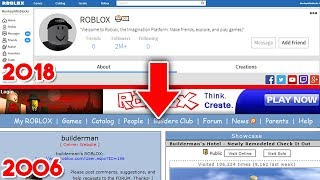 PLAYING 2006 CLASSIC ROBLOX!!