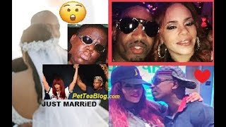 Faith Evans & Stevie J Just Got MARRiED ⚭💏 Biggie Would Be Tight ..