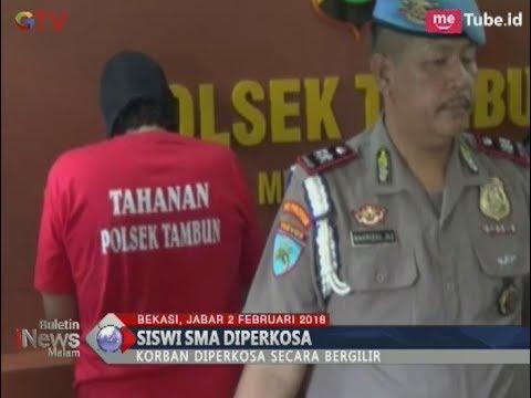 Dicekoki Miras, Gadis SMA Diperkosa Secara Bergiliran Oleh Tiga Lelaki - BIM 02/02