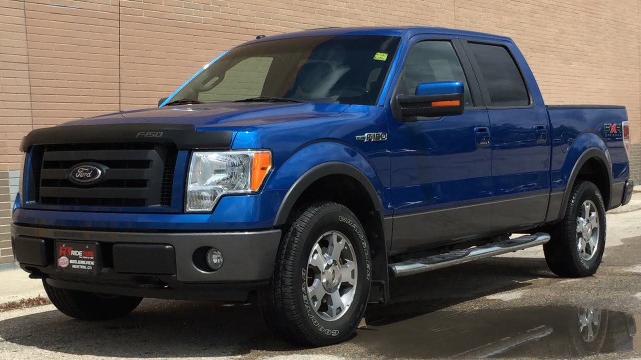2009 ford f 150 fx4 4wd supercrew leather sunroof. Black Bedroom Furniture Sets. Home Design Ideas