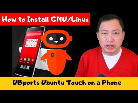 How To Install GNU/Linux UBPorts Ubuntu Touch On Oneplus One (and Nexus 5)
