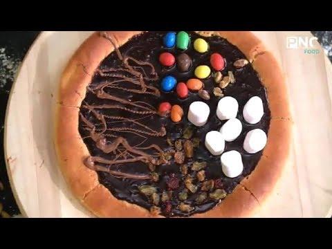صورة  طريقة عمل البيتزا طريقة عمل البيتزا بالشوكولاتة | كل يوم جديد مع الشيف محمد إبراهيم طريقة عمل البيتزا من يوتيوب