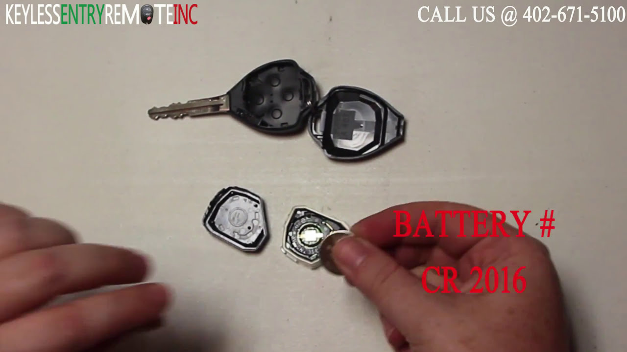 How To Replace Toyota Corolla Key Fob Battery 2009 2010
