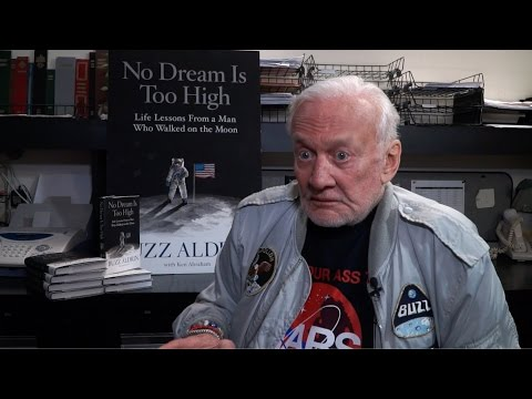 No Dream is Too High: One on One with Buzz Buzz Aldrin at the ...