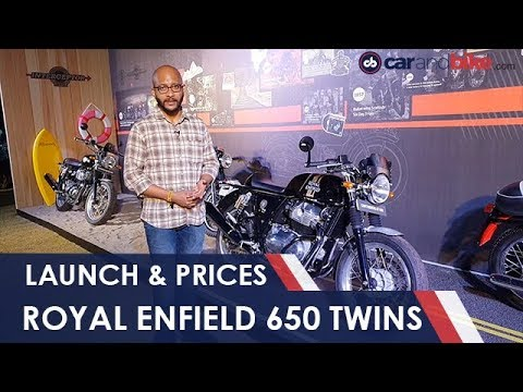 Royal Enfield 650 Twins Launched; Prices Begin At Rs. 2.5 Lakh