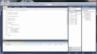(Bölüm 1)C++ Eğitimi 20 -1 - Sınıflar ve Nesne Yönelimli Programlama