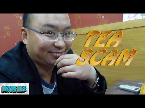 SHANGHAI SCAM WARNING |  IS CHINA DANGEROUS? | TEA HOUSE SCAM CHINA