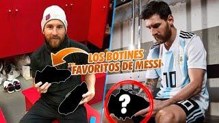 Estos son los botines FAVORITOS de Messi NADIE LE HA DADO UN MEJOR REGALO