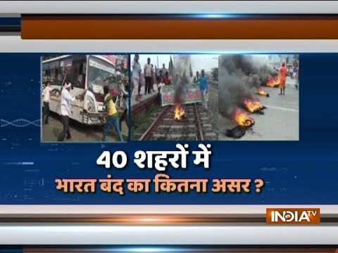 Bharat Bandh: India witnesses mixed response, hits normal life in several states