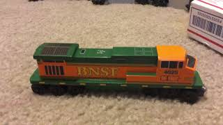 Його тут BNSF дерев'яний поїзд С44