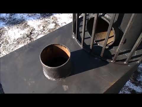 видео: Печь для бани, модель 2018 г.