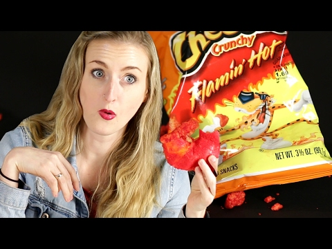 Thumbnail: People Try Hot Cheetos Bagels