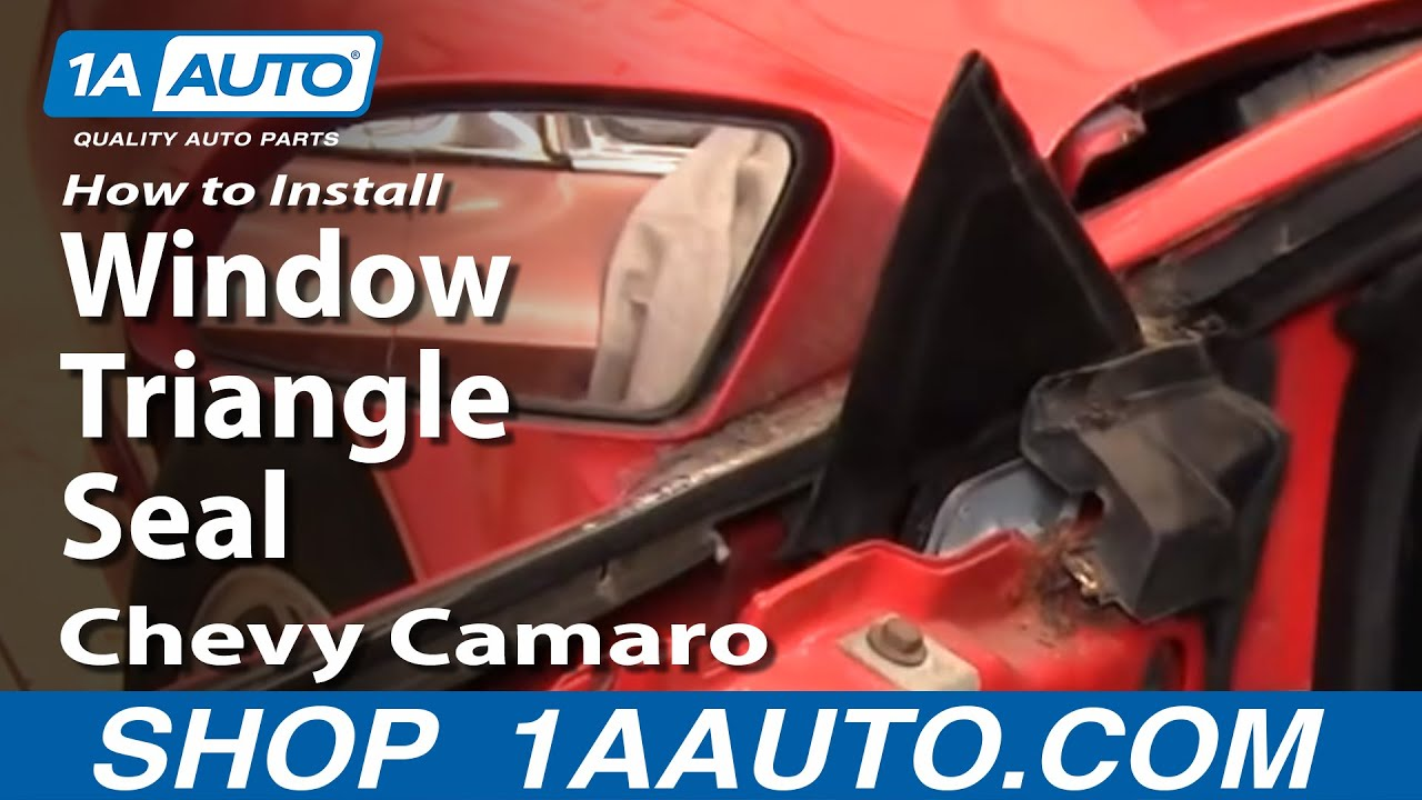 How To Install Remove Window Triangle Seal 82 92 Chevy
