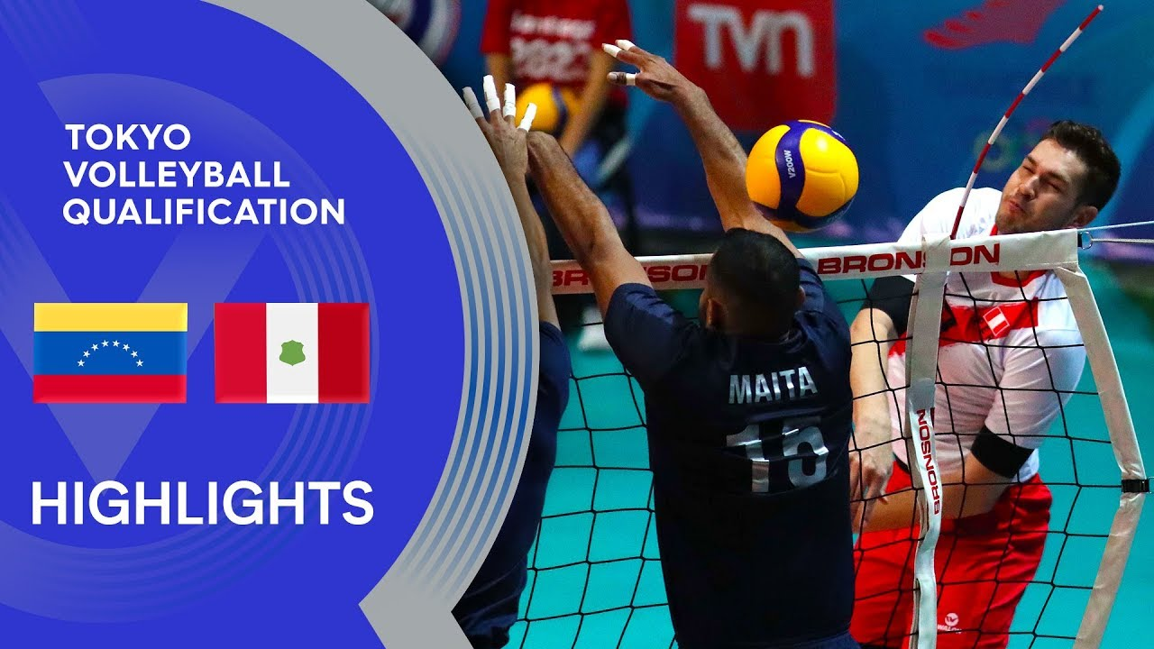 Venezuela vs. Peru - Highlights | CSV Men's Tokyo Volleyball Qualification 2020