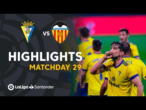 Cadiz Valencia Goals And Highlights