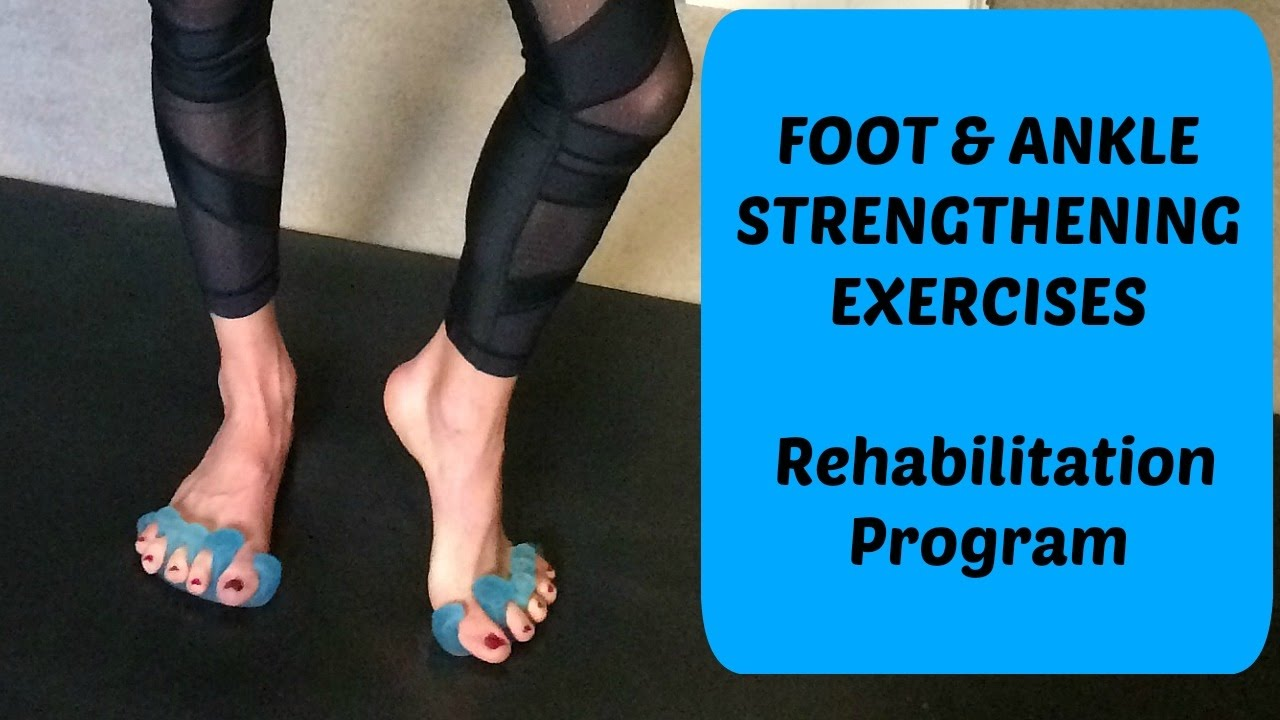 Ankle Sprain Rehab Exercises to Get You on Your Feet Quickly