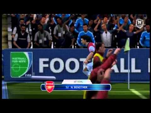 Anders Breinholt & Nicklas Bendtner spiller Fifa