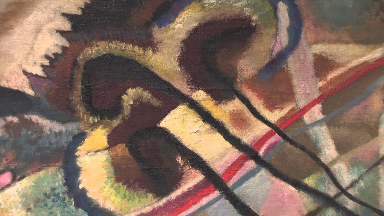 Kandinsky White Painting
