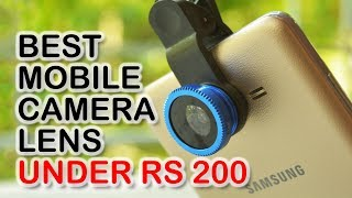 Mobile Camera Lens Unboxing and Review || Best Photography Lens