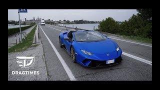 DT_SPECIAL. На Lamborghini Huracan Performante Spyder по долине моторов в Италии