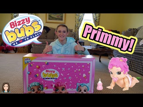 BRAND NEW! Moose Toys Little Live Bizzy Bubs Primmy | Kelli Maple