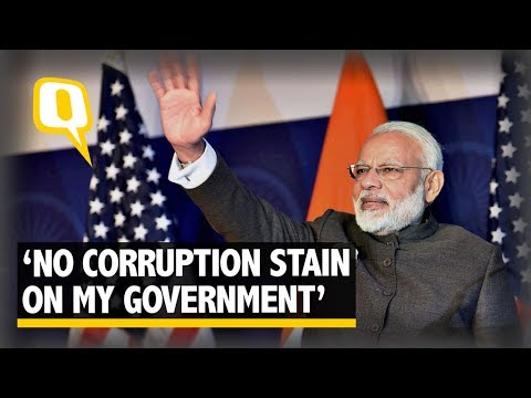 corruption is a blot on india