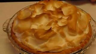 Betty's Butterscotch Meringue Pie--part 2 (the Meringue)