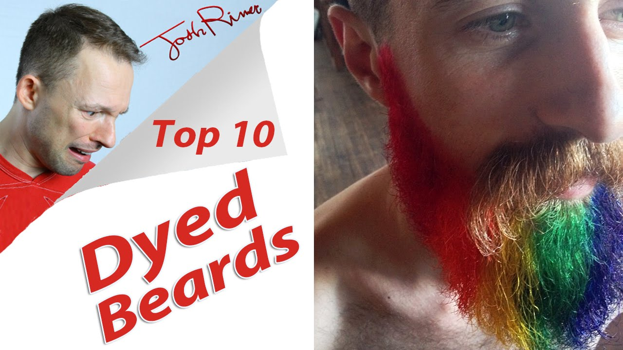 Dyed Colored Beards (Top 10 List) - YouTube