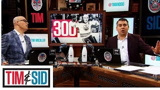 Sid Predicts Where Connor McDavid Will Finish Career in All-Time Points Scored | Tim and Sid