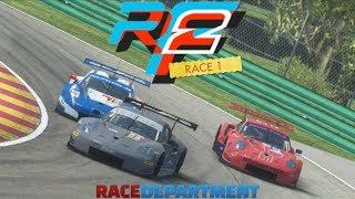 rF2 RD Event R1 I Endurance Pack Studio 397 GTE @Road America I Porsche 911 RSR I kozik