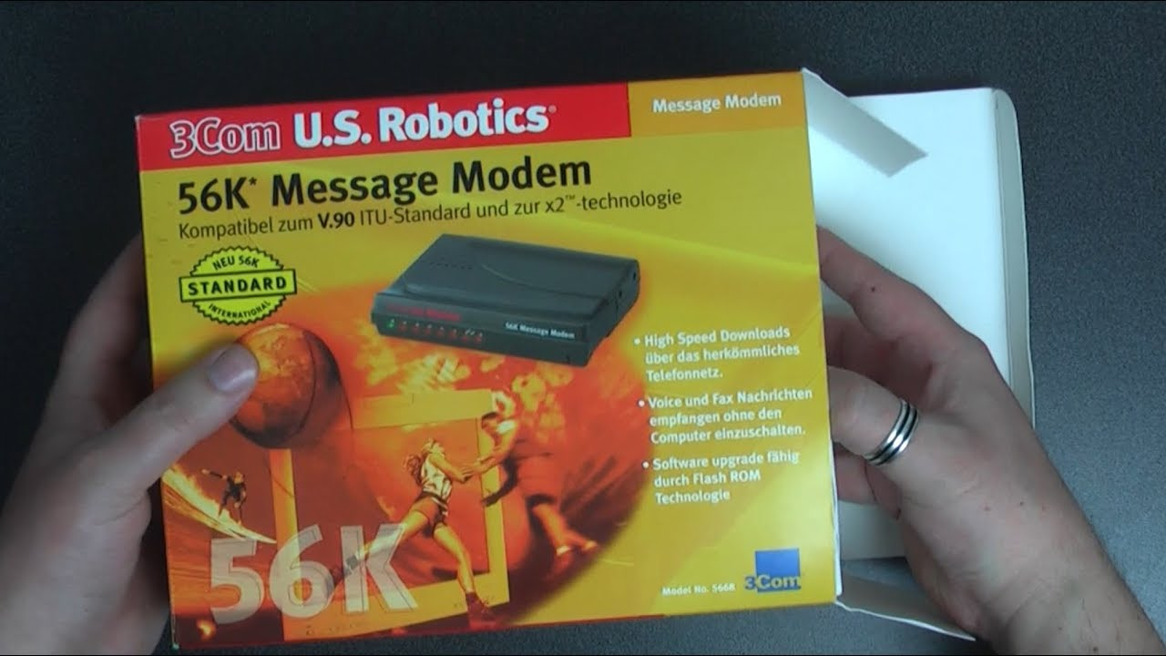 NEW DRIVER: 3COM ROBOTICS 56K MESSAGE MODEM