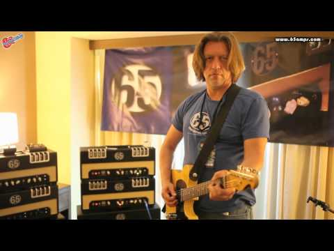 65 Amps, The Producer Demo with both EL-34 and 6L6 Tubes at The 2013 LA Amp and Custom Guitar Show